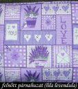 Parajdi sópárna huzat  felnőtt (lila levendula)